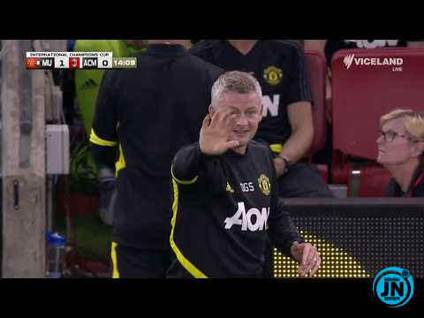 Manchester United vs Ac Milan 2-2 – All Goals & Highlights
