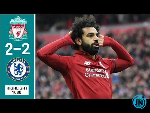 Liverpool vs Chelsea 2-2 Highlights & Goals