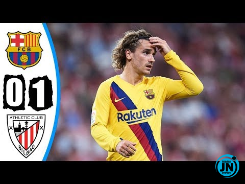 Atletico Bilbao vs Barcelona 1-0 – Highlights & Goals