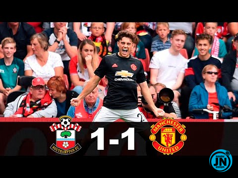 Southampton vs Manchester United 1-1 – All Highlights & Goals 31/08/2019