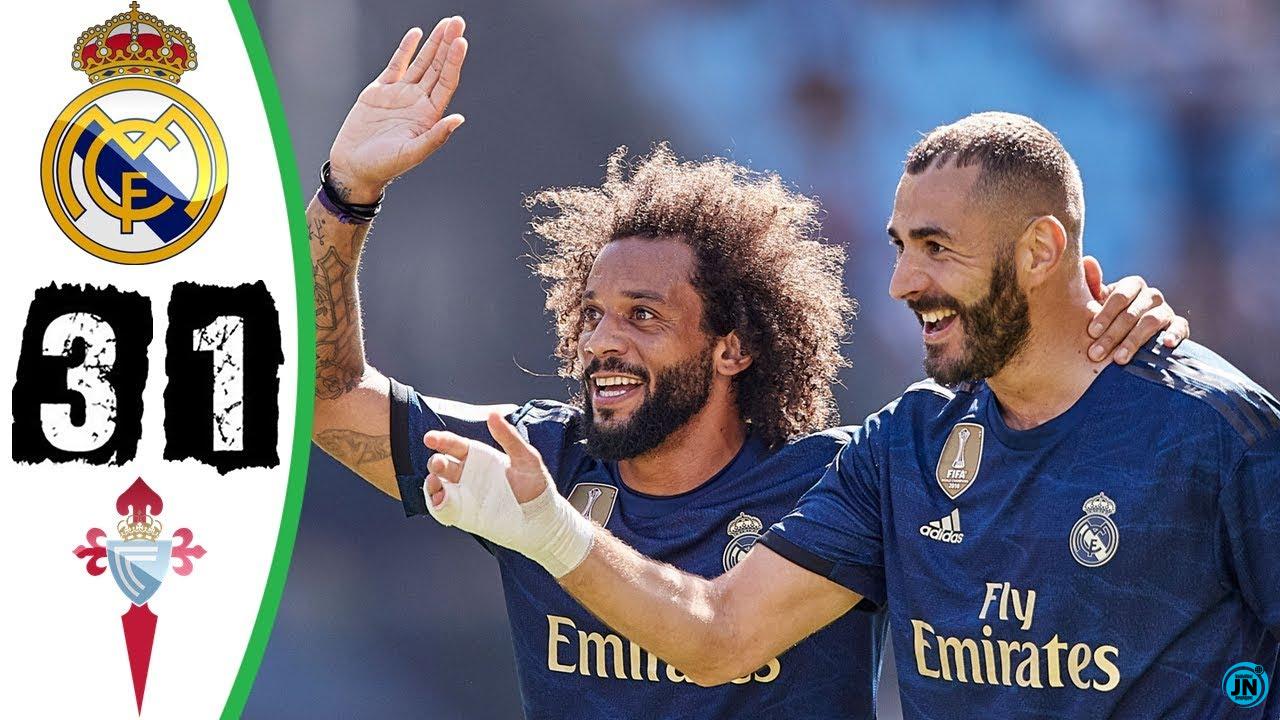 Celta Vigo vs Rеаl Маԁrіԁ 1-3 – Highlights & Goals