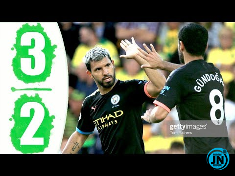Norwich City vs Manchester City 3-2 – All Highlights & Goals